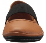 Camper Right Nina 21595 Brown Black Womens Leather Shoes