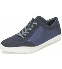 Camper Peu Slastic K100100 Navy Mens Suede Trainers Shoes