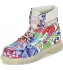 Caterpillar Colorado Flowers Pink Multi Women Leather Boots