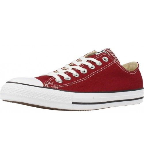 Converse Chuck Taylor All Star Red Block Canvas Ox Trainers