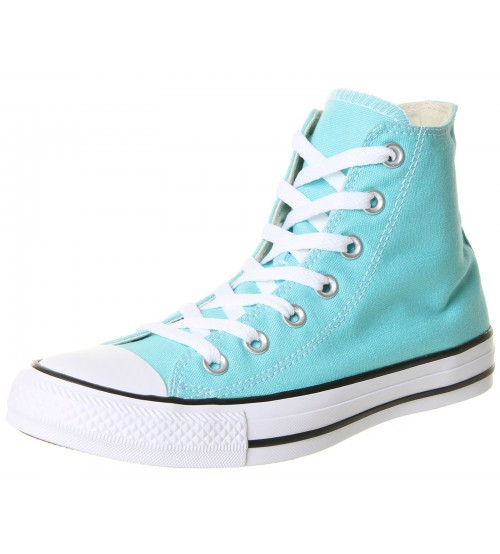 Converse Chuck Taylor All Star Aqua Canvas Womens Hi Trainer