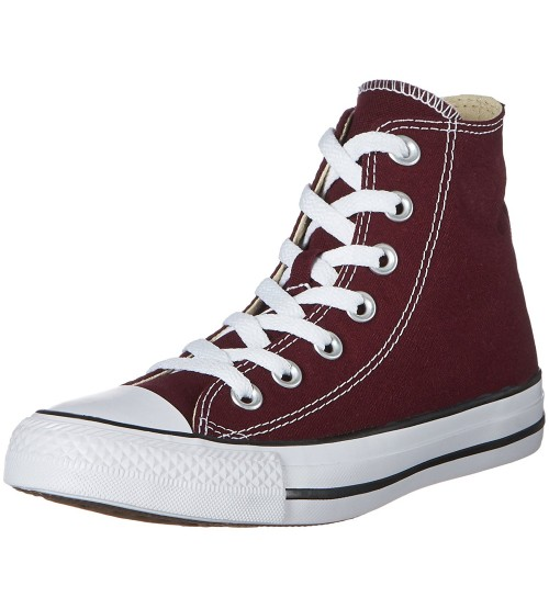 Converse Chuck Taylor All Star Dark Sangria Canvas Womens Hi Trainer
