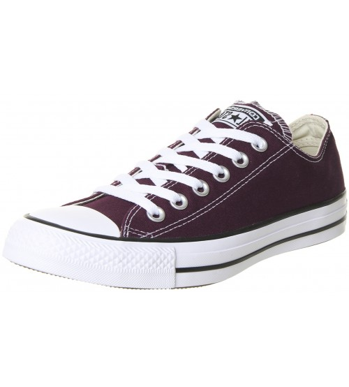 Converse Chuck Taylor All Star Dark Sangria Womens Lo Trainer