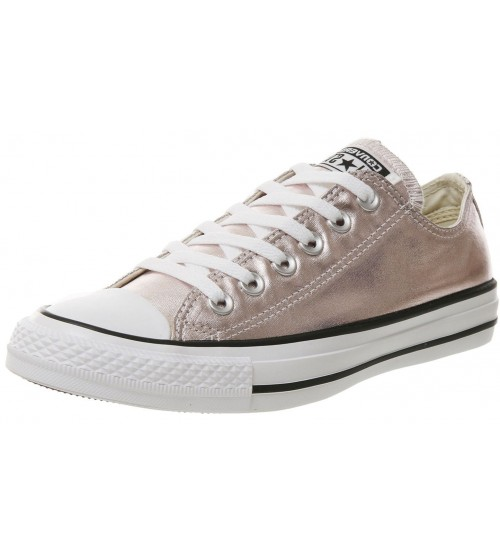 Converse Chuck Taylor All Star Rose Metallic Womens Lo Trainer