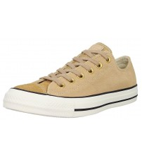 Converse Chuck Taylor All Star Camel Womens Suede Lo Trainer