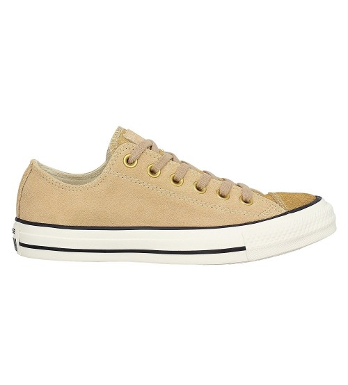 14971f4e1088a Converse Chuck Taylor All Star Camel Womens Suede Lo Trainer