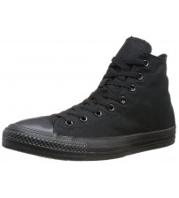 Converse Chuck Taylor All Star Black Mono Hi Unisex Trainers