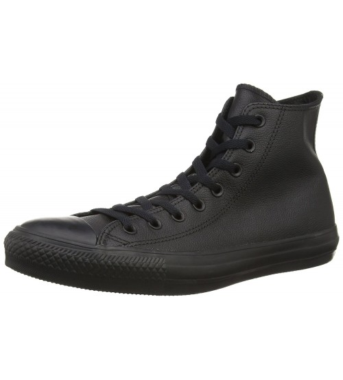 Converse Chuck Taylor All Star Black Hi Unisex Leather Trainers