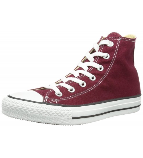 Converse Chuck Taylor All Star Maroon White Hi Unisex Trainer
