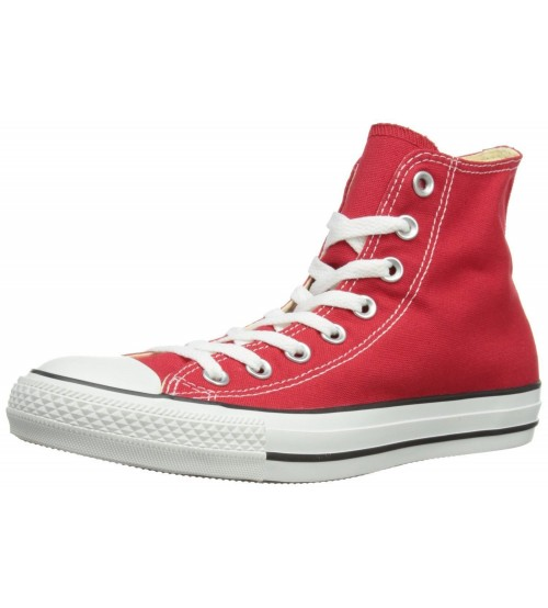 Converse Chuck Taylor All Star Red White Hi Unisex Trainers Boots 3aca17382