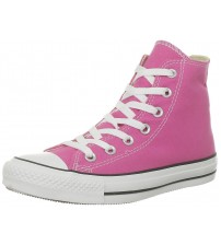 Converse Chuck Taylor All Star Pink White Hi Women Trainers