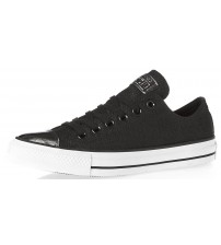 Converse Chuck Taylor All Star Black Bronze Leather Womens Trainers