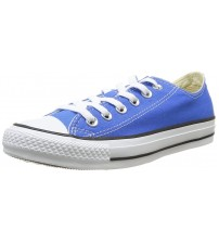Converse Chuck Taylor All Star Blue White Ox Lo Women Trainers