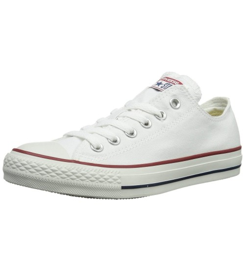 Converse Chuck Taylor All Star White Ox Lo Unisex Trainers Shoes