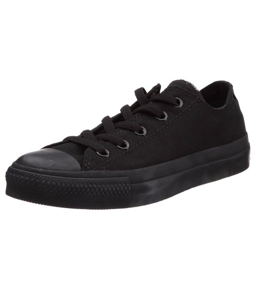 Converse Chuck Taylor All Star Black Mono Ox Lo Unisex Trainers