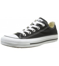 Converse Chuck Taylor All Star Black White Ox Lo Unisex Trainers