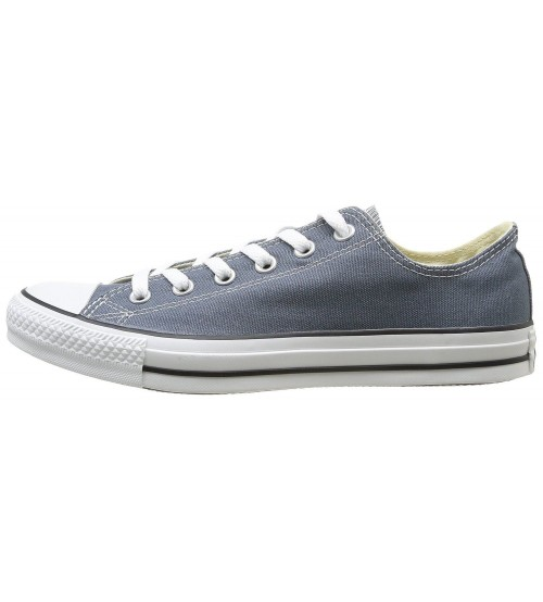 48a3e917f960 ... Converse Chuck Taylor All Star Navy White Ox Lo Unisex Trainers ...