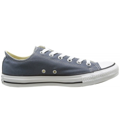 52cb10b0a7ae ... Converse Chuck Taylor All Star Navy White Ox Lo Unisex Trainers ...