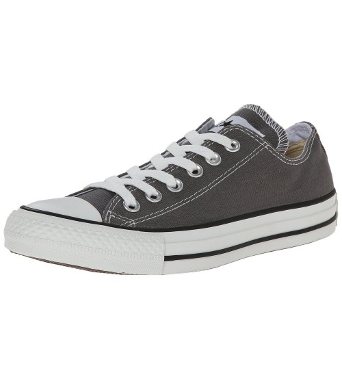 Converse Chuck Taylor All Star Charcoal White Ox Lo Unisex Trainers