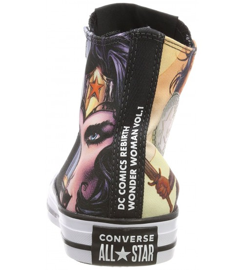 aa0242e15b86 Converse Chuck Taylor All Star DC Comics Rebirth Wonder Woman Hi Trainers