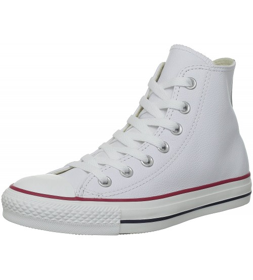 Converse Chuck Taylor All Star White Hi Unisex Leather Trainers