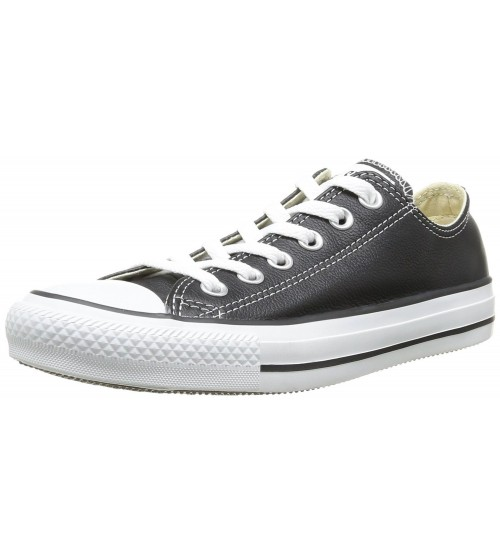 Converse Chuck Taylor All Star Black White Lo Unisex Leather Trainer