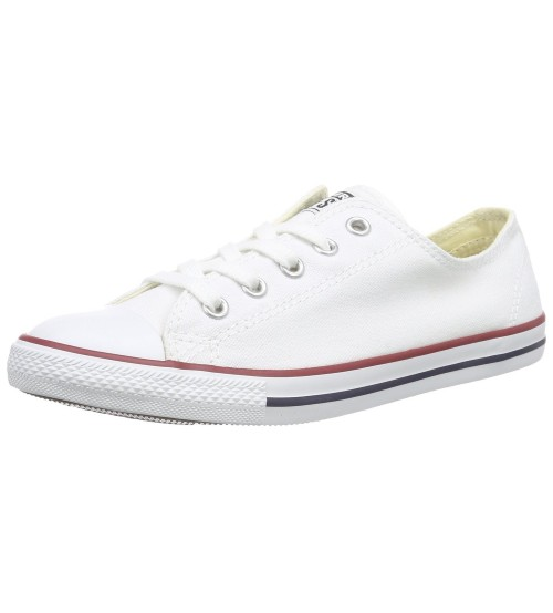 Converse Chuck Taylor All Star Lean Ox White Women Trainers