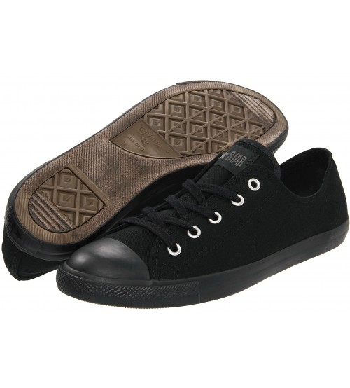 Converse Chuck Taylor All Star Lean Ox Black Mono Women Trainers