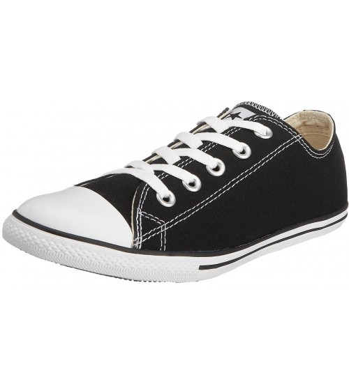 Converse Chuck Taylor All Star Lean Ox Black White Women Trainers