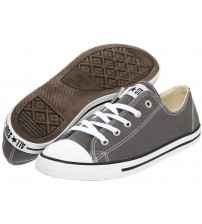 Converse Chuck Taylor All Star Lean Ox Charcoal White Women Trainers