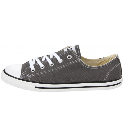 f48cdcc0548 ... Converse Chuck Taylor All Star Lean Ox Charcoal White Women Trainer ...