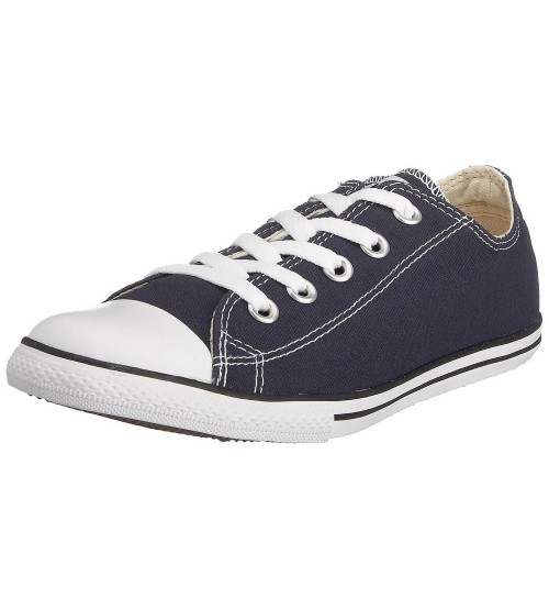 Converse Chuck Taylor All Star Lean Ox Navy White Womens Trainers
