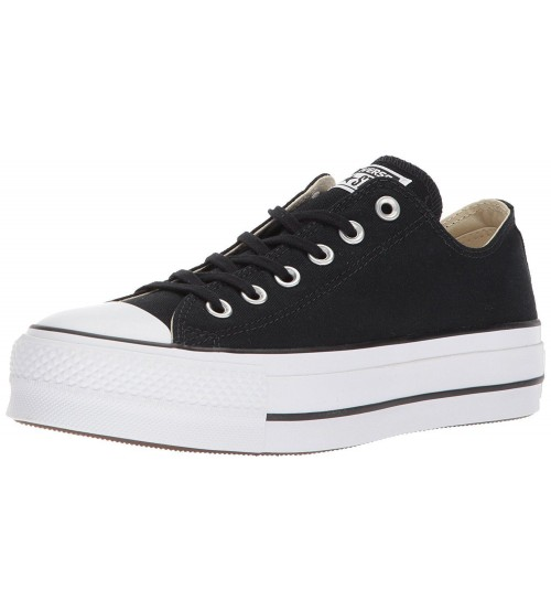 Converse Chuck Taylor All Star Lift Black White Womens Trainers