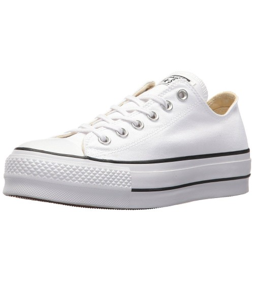 Converse Chuck Taylor All Star Lift White Black Womens Trainers