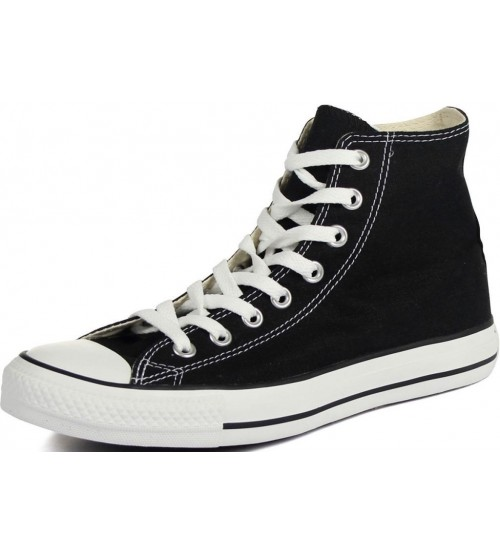 f8c3016c14e1 Converse Chuck Taylor All Star Black White Hi Unisex Trainers Boots