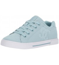 DC Chelsea TX Light Blue Womens Skate Trainers