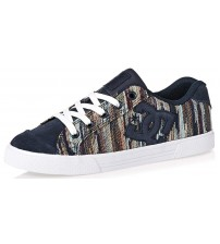 DC Chelsea TX LE Dark Navy Womens Skate Trainers