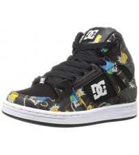 DC Rebound X Advanture Time Leather Womens Skate Trainers