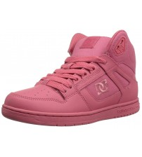 DC Rebound Hi Desert Womens Leather Skate Trainers Boots