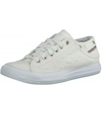 Diesel Exposure iv Low W White Womens Canvas Trainers Shoes