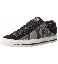 Diesel Exposure iv Low W Snake Print Womens Leather Trainers