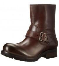 Diesel B-My Rock Dark Brown Leather Women Boots