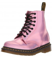 Dr Martens 1460 Pascal IM Pink Metallic Womens Leather Boots