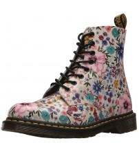 Dr Martens 1460 Wanderlust Bone Floral Womens Leather Boots