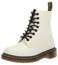 Dr Martens 1460 Pascal White Purple Glitter Womens Boots