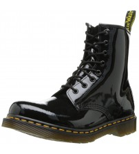 Dr Martens 1460 Black Patent 8 eyelets Women Boots