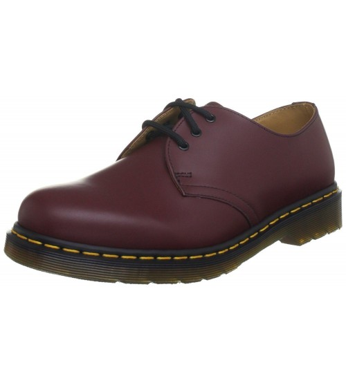 Dr Martens 1461 Cherry Red Leather Unisex Shoes