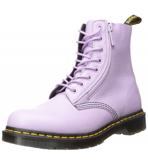 Dr Martens Pascal Orchid Purple 8 eye Womens Leather Boots