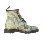 Dr Martens 1460 William Blake Multi 8 eye Womens Leather Boots