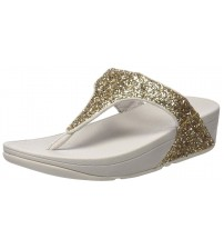 Fitflop Glitterball Pale Gold Womens Sandals Flip flops